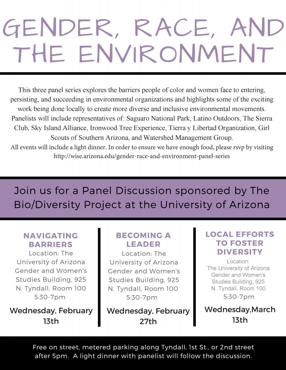 Gender, Race, and Environment Panel Series | Women in
